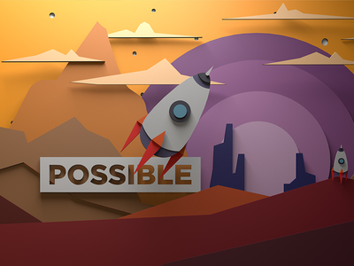 3 POSSIBLE CEE wallpaper 3d car vector possible space whale ship sea wood submarine spaceship wallpaper