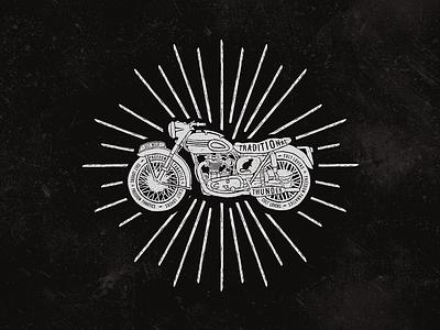 Vintage bikes vintage rust rat moto lettering illustration helmet hand grunge drawn bike