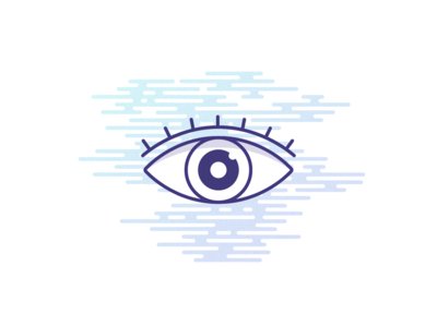 eyewitness illustration misty suspicious eyewitness eye