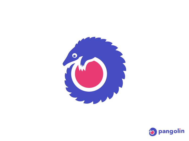 pangolin animal brand manis pangolin logo