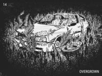 Inktober / 14 - Overgrown