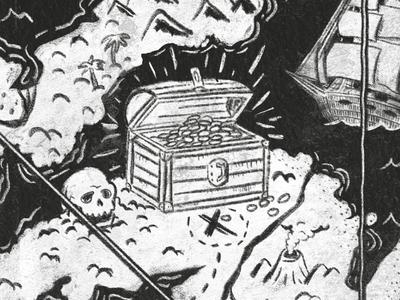Inktober / 21 - Treasure