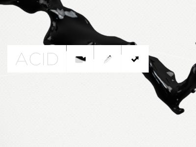 Acid  black white motion graphics dynamic moving