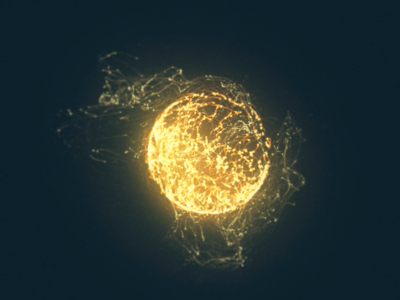 Fireball! dynamic after effects particular moving fire blend