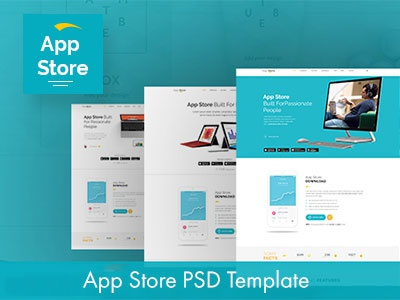 App Store Psd Template responsive mobile app template mobile app landing marketing template marketing landing page landing page psd template apps landing app website app landing template app landing page