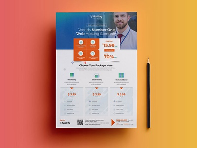 Web Hosting Flyers low light hosts hosting host design cpanel cost business best apps
