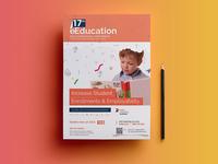 Education Event Posterflyer Design