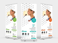 Event Conference Roll Up Banner