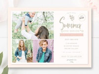 Newborn Photography Flyer