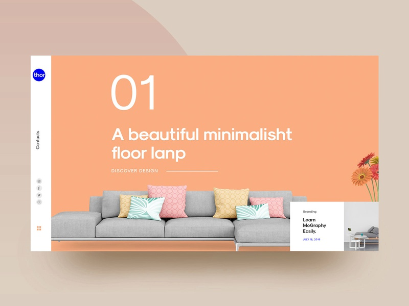 Interior Design Magazine Designs Themes Templates And Downloadable Graphic Elements On Dribbble