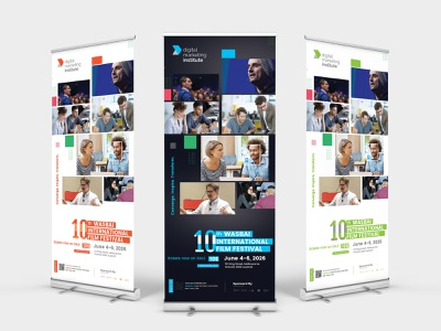 Event Conference Roll-up Banner signage seminar roll-up banner participant meeting marketing explaining event roll-up banner event entrepreneur design expo creative corporate event corporate convention center convention congress conference business annual program