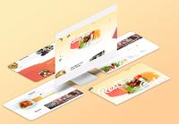 Restaurant Homepage Design Exploration