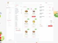 Restaurant User Website & Dashboard UI Kit