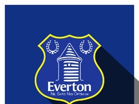 Everton 3d long shadow