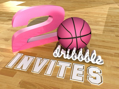 2 Dribbble Invites Up For Grabs