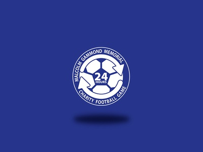 24 Hour Charity Soccer Match Logo