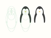 Penguin Logo Construction