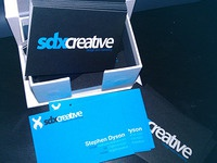 SDX Cretive Business Cards