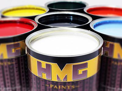 HMG Paints Tins Cover Image
