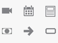 Film Web Icons