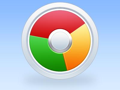 Chrome. chrome google icon replacement idea metal colours photoshop adobe mac cs5 bethwilson3