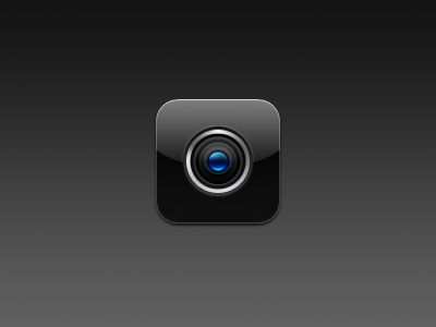 Camera. camera lens lense icon ios device winterboard jailbreak theme distira hd photoshop 4 iphone bethwilson3