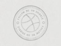 Dribbble Stamp