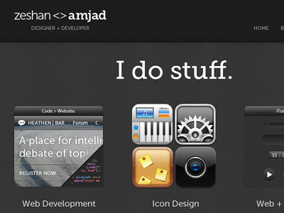 Portfolio Redesign portfolio dribbble redesign