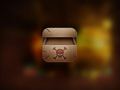 Chest. treasure cydia pirate ios icon 114 retina