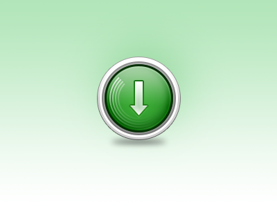 µTorrent Icon µtorrent bittorrent downloading arrow icon green glyph layer styles photoshop 128px