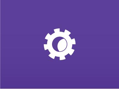 Moonlight Mill Logo industry gear logo