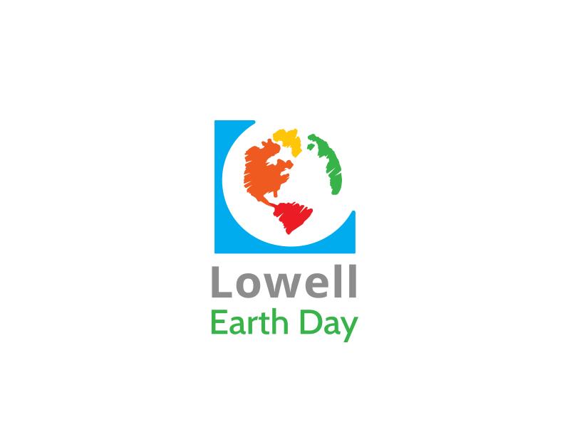 Lowell Earth Day paint community creativity sustainability earth logo