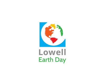 Lowell Earth Day paint community creativity sustainability earth logo
