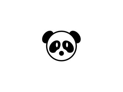 Day 3: Panda panda dailylogochallenge daily logo challenge logo type logo