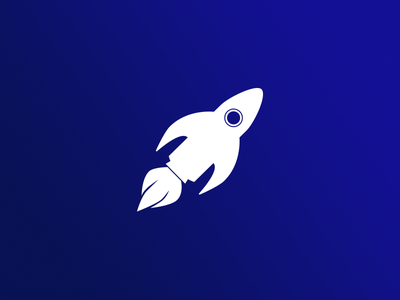 Day 1: Rocketfish space rocket fish branding dailylogochallenge logo