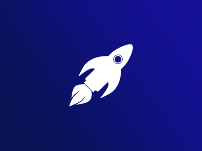 Day 1: Rocketfish space rocket fish branding dailylogochallenge logo