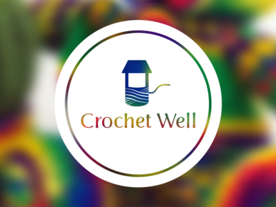 Crochet Well branding well crochet logo