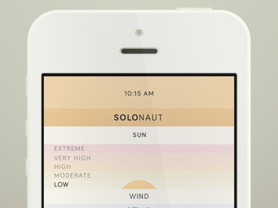 Solonaut - For the explorer in us all solonaut app free ui weather explore adventure weekend marine beach