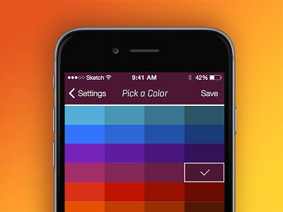 Pick a color...any color ui design ux color color picker colors