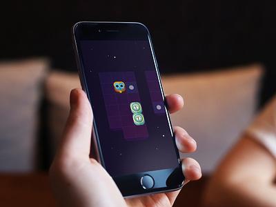 Gamez game puzzle space animation user interface colors games color ux design ui