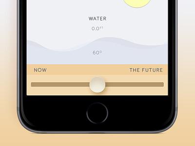 Solonaut slider space solo app iphone design mobile ux ui