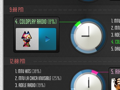 It's 'time' for some info graphics... infographic infographics time music player