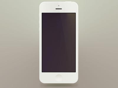Minimal iPhone5 PSD's psd minimal iphone5 white mockup iphone mockup iphone5 mockup