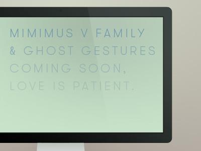 Love is patient. minimus minimus v mac cinema mockups free template free mockups minimal ghost gestures