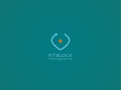 Fitblock logo ui branding vector design icon app brand graphic design graphic brand identity logotype logomark wordmark minimal symbol unique colours colour brandmark