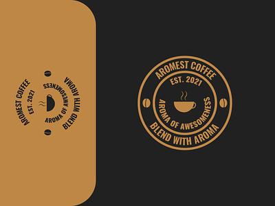 Aromest Coffee vector