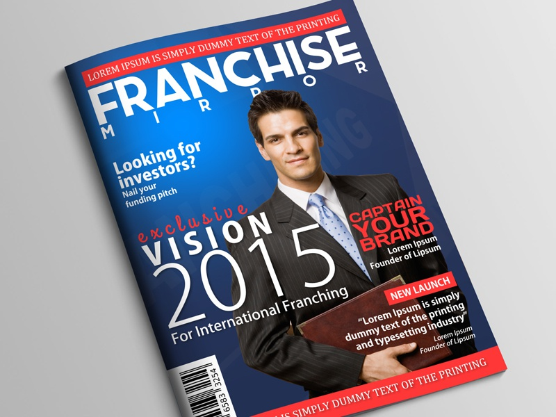Franchise Mirror Magazine Cover By Raj Singh On Dribbble