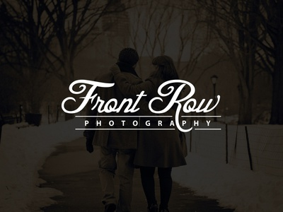 Front Row Photography Logo