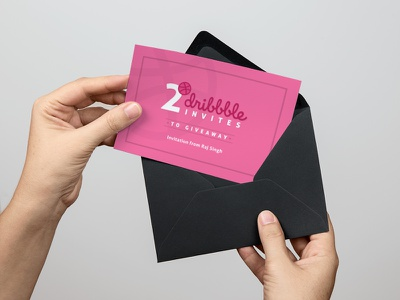 Dribbble Invitation Giveaway - 2 Invites players invites invite invitation giveaway dribbble draft