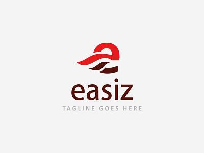 Easiz - Logo Design Template designer design elegant simple lettering logo letter e template logo